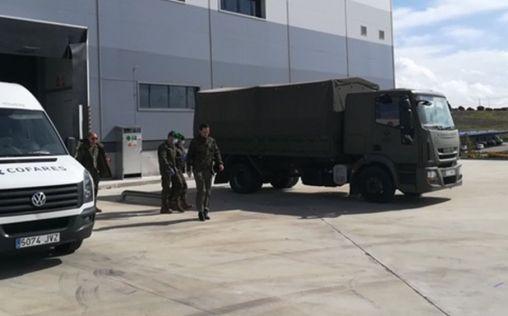 Fundación Cofares dona 6.000 geles de baño a las Fuerzas Armadas en la lucha contra el COVID-19