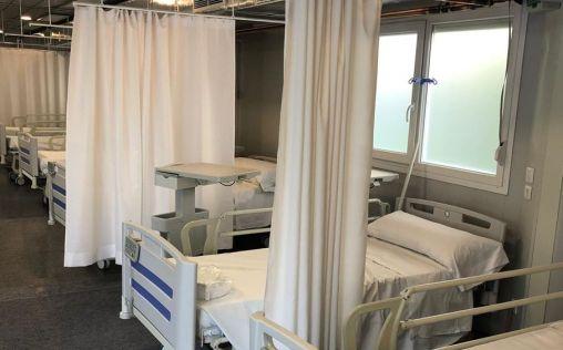 Sanitas abre dos hospitales de campaña para atender a pacientes con coronavirus