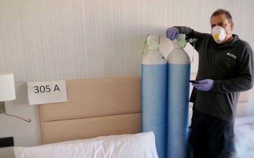 Oximesa Nippon Gases medicaliza el Hotel Catalonia Gran Verdi en Sabadell
