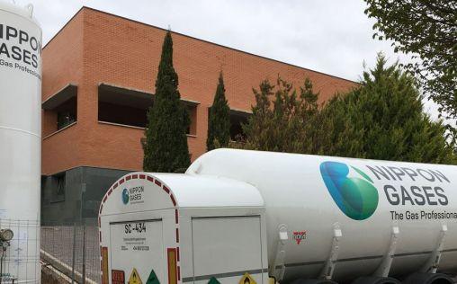 Nippon Gases lleva al hospital de Albacete una instalación criogénica de oxígeno medicinal