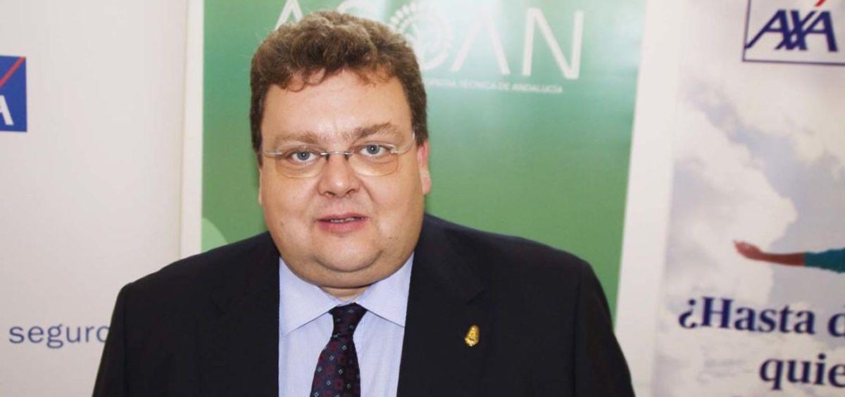 El presidente de FEDOP, Pablo Pérez Aragundi. (Foto. Asoan)