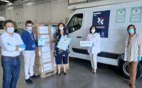 Donación de la Fundación Cofares (Foto. Cofares)