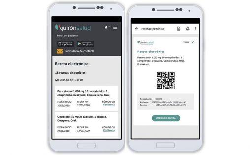 Quirónsalud trabaja ya con la receta electrónica privada