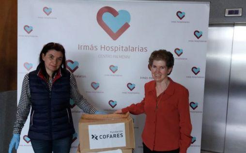 Cofares dona productos de salud e higiene al Centro Pai Menni de Hermanas Hospitalarias de Betanzos
