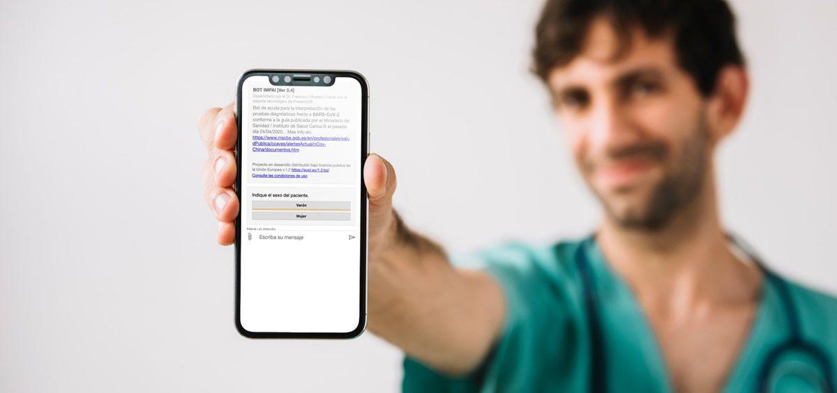 Asisa incorpora y pone a disposición  de sus médicos un chatbot  para el diagnóstico de la Covid 19
