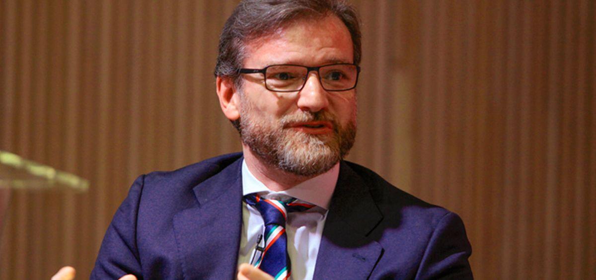 Luis Cordero, vicepresidente de la Fundación AstraZeneca. (Foto. Asomega)