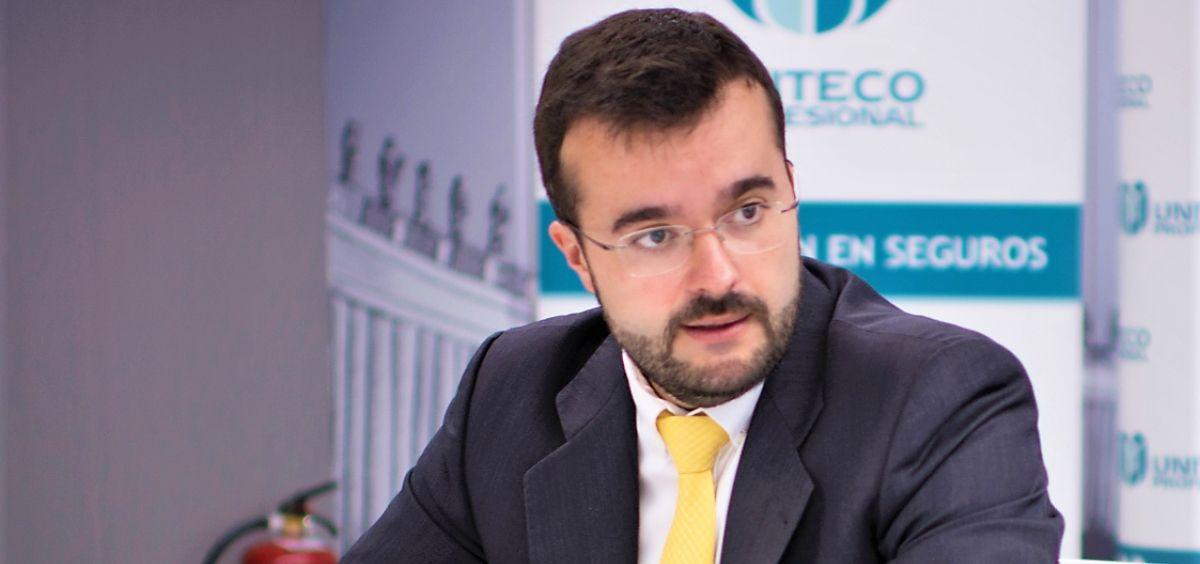 Juan Pablo Núñez, director general de Uniteco. (Foto. Uniteco)