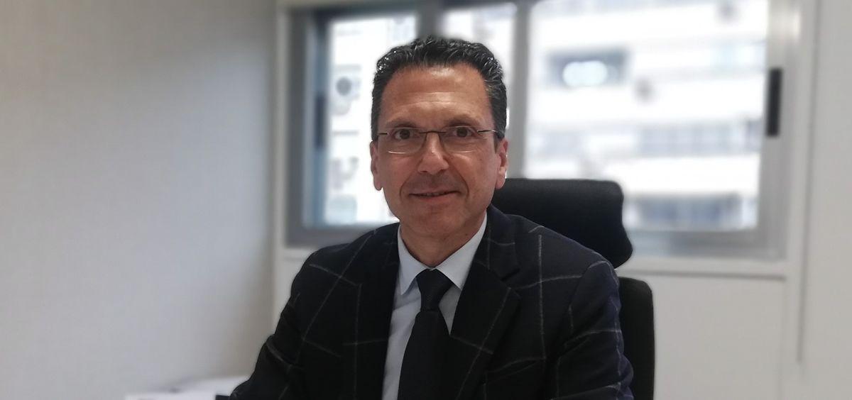 Jorge Huertas, director general de Oximesa Nippon Gases.