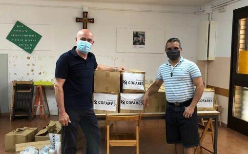 Cofares dona productos de higiene y alimentación infantil a Cáritas Diocesana de Barcelona
