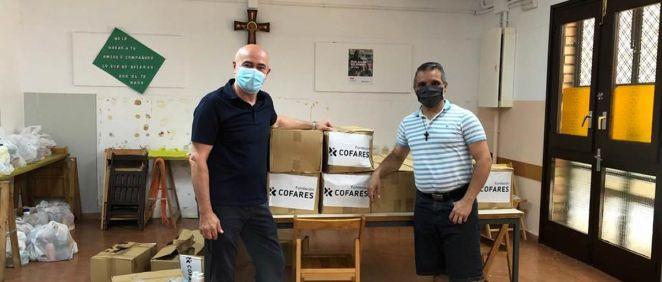 Donación de Cofares (Foto. ECSalud)