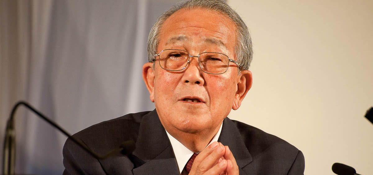 Kazuo Inamori, fundadora de Kyocera (Foto. @KYOCERA Global)