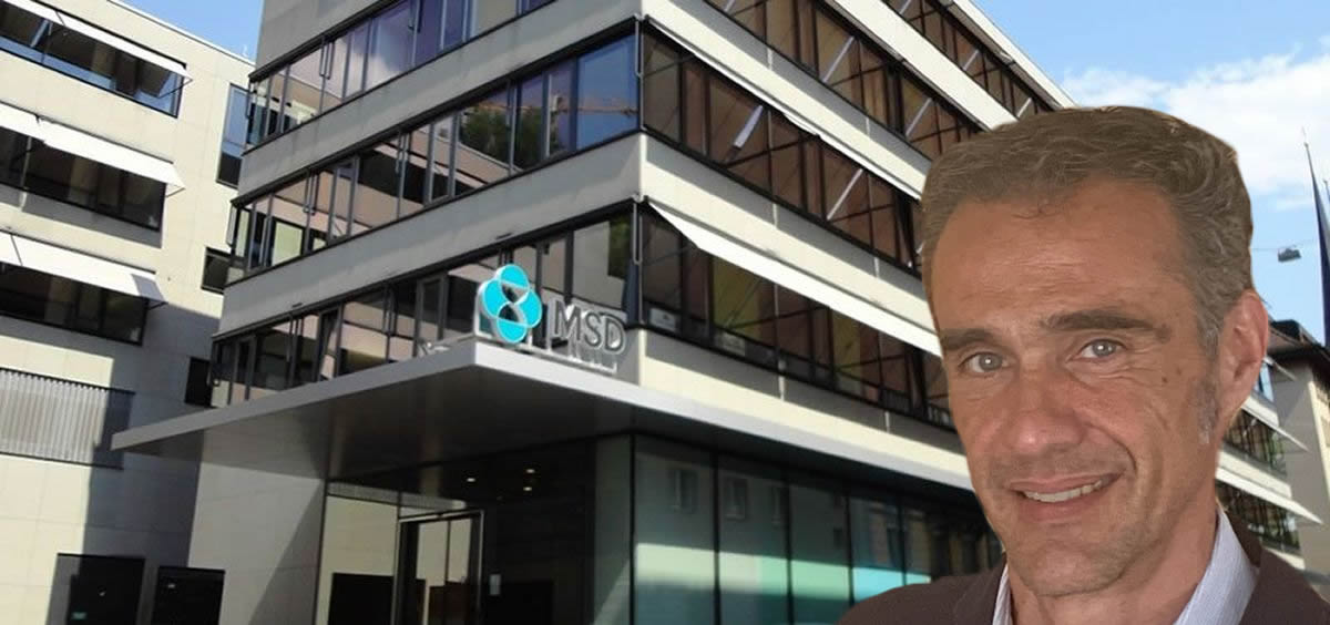 Juan Vera, nuevo director ejecutivo de Market Access de MSD (Foto. Fotomontaje ECSalud)