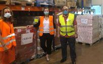 AbbVie dona al Banco de Alimentos de Madrid más de 4.900 kilos de alimentos