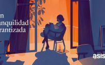 Una de las ilustraciones de la nueva campaña de Asisa