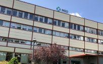 Fachada exterior de la sede de MSD