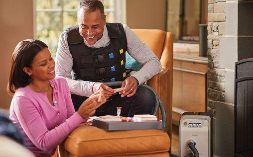 La terapia con HFCWO con el sistema Philips InCourage reduce las hospitalizaciones