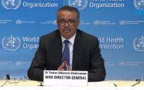 El director general de la Organización Mundial de la Salud (OMS), Tedros Adhanom Ghebreyesus (Foto. EP)