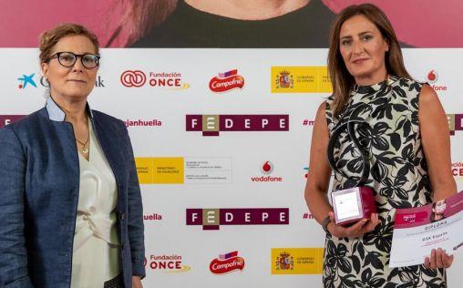GSK España recibe el Premio FEDEPE Impulso a la Promoción de la Mujer