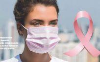 Cofares lanza una mascarilla quirúrgica rosa para apoyar la investigación contra el cáncer de mama