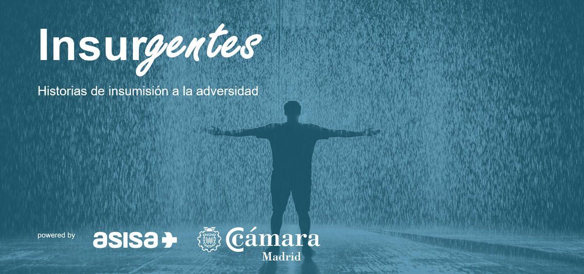 Imagen de promoción del Ciclo Insurgentes, impulsado por Asisa en la Cámara de Comercio de Madrid.