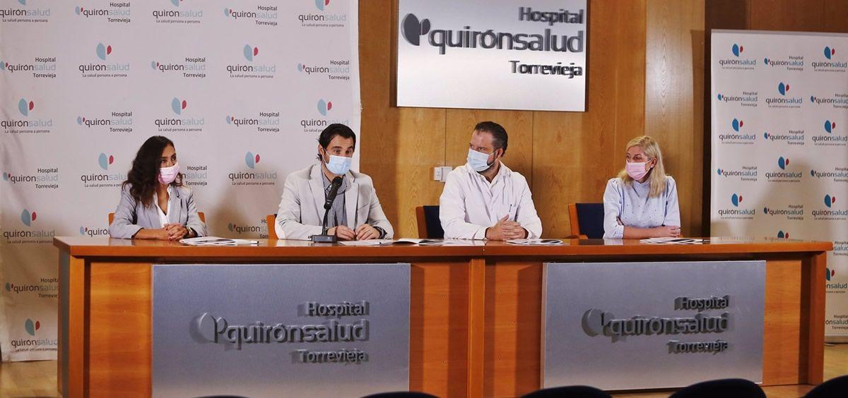 Presentación de la Humanización de la UCI de Quirónsalud Torrevieja