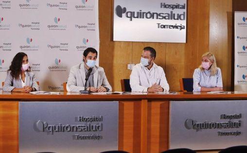 """Quirónsalud Torrevieja inaugura la """"humanización"""" de su UCI, con paisajes naturales de la comarca"""