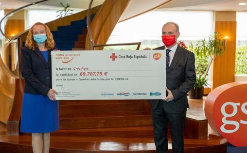 GSK Consumer Healthcare se suma al Plan Cruz Roja RESPONDE entregando más de 69.000 euros