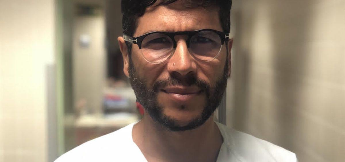 El doctor José Luis Díaz Cordobés, psicólogo experto en ELA del equipo de VitalAire.