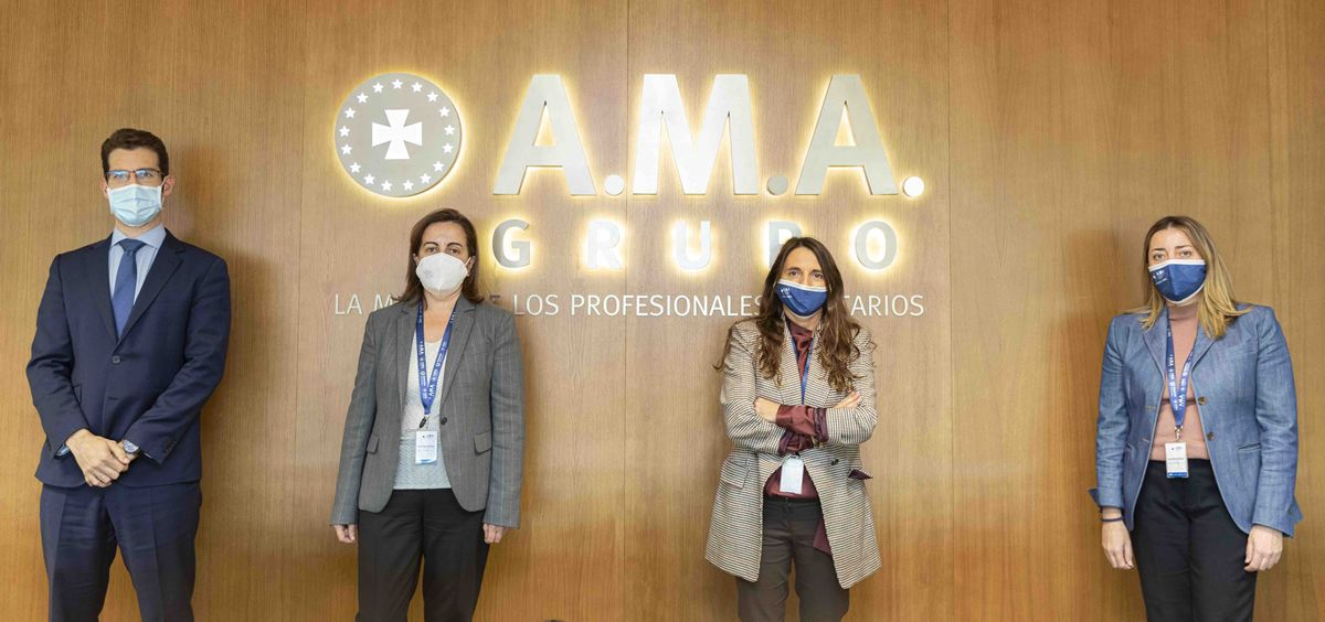 A.M.A. forma a los alumnos del Máster de Derecho Sanitario de la Universidad San Pablo CEU