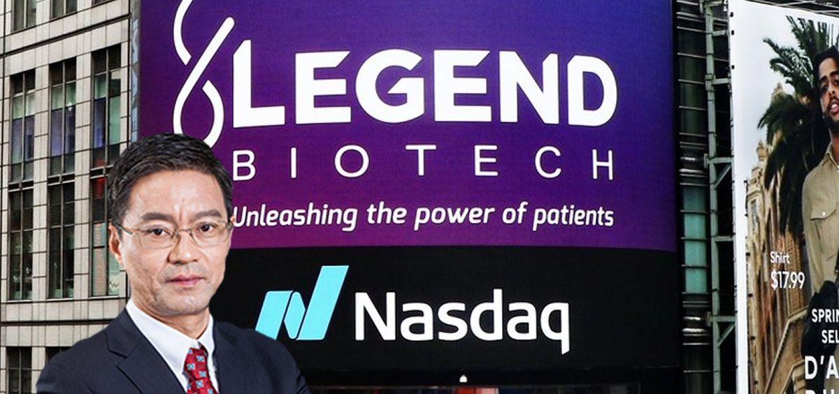 El fundador de Genscript Biotech y su subsidiaria Legend Biotech, Fangliang Zhang