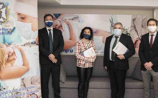 AMA Vida firma con el Colegio de Enfermería de Lugo la póliza colectiva de Vida
