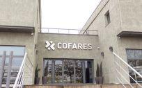 Entrada del nuevo centro de distribución de Cofares.