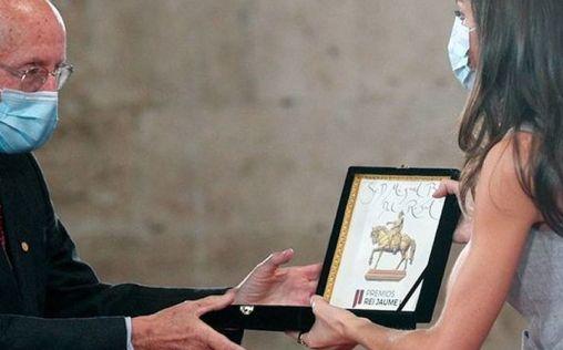 La Reina Letizia entrega el premio Rei Jaume I a investigación médica, patrocinado por Air Liquide