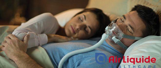 Tratamiento apnea del sueño Air Liquide Healthcare
