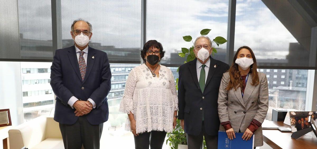 Luis Campos, Mª del Mar García, Diego Murillo y Raquel Murillo