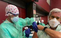 Ribera vacuna en tiempo récord a 3.000 profesionales
