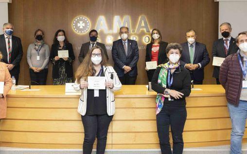 La Fundación A.M.A. entrega los Premios Mutualista Solidario, dotados con 60.000 euros