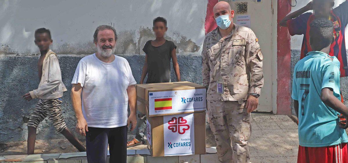 Fundación Cofares dona medicamentos pediátricos a las Fuerzas Armadas