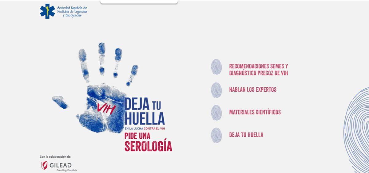 Gilead y Semes lanzan la nueva web 'DejaTuHuella' contra el VIH