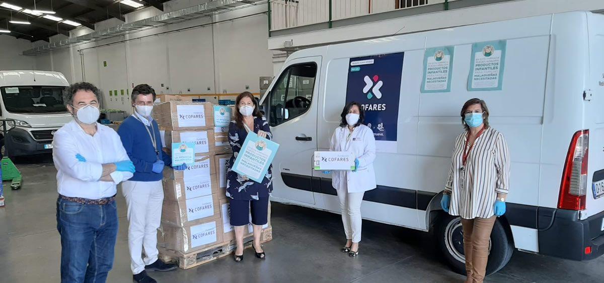 Fundación Cofares suma 100.000 donaciones de fármacos, alimentos y material sanitario