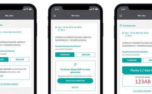 El portal para pacientes 'MiQuirónsalud' supera los tres millones de usuarios
