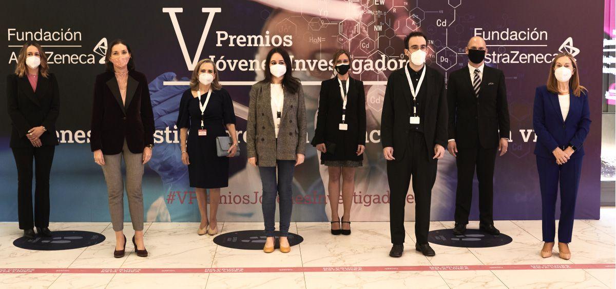 V edición Premios Jóvenes Investigadores (Foto. Fundación AstraZeneca)