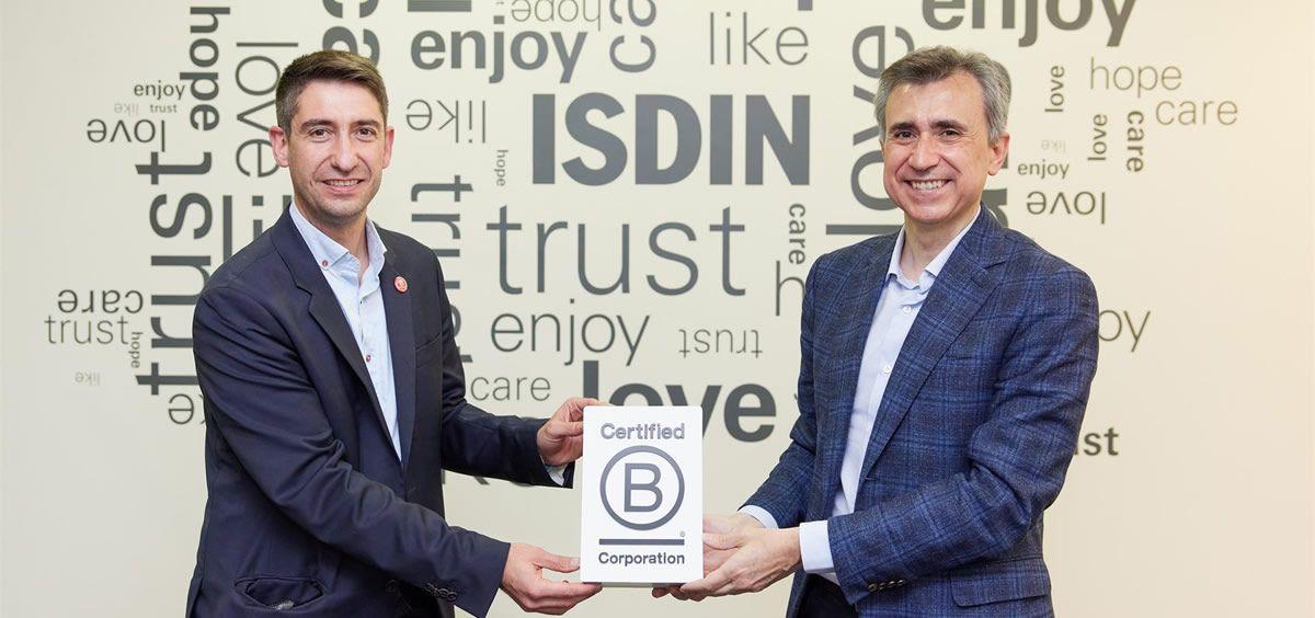 Isdin obtiene el sello B Corp, que certifica las empresas que invierten esfuerzos en la mejora de la sociedad. (Foto. Europa Press)