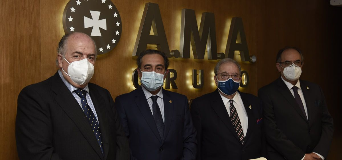 Mariano Casado recibe el Premio Nacional del Derecho Sanitario patrocinado por la Fundación A.M.A.