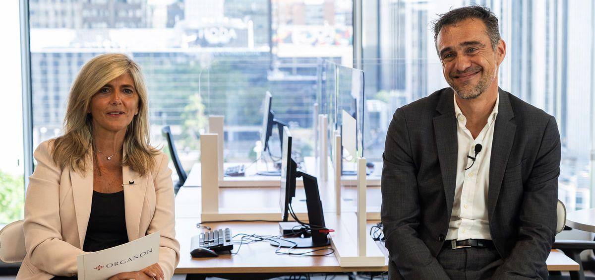 Juan Vera, director general España y Portugal, y Begoña Gómez Taboada, directora médica España y Portugal.