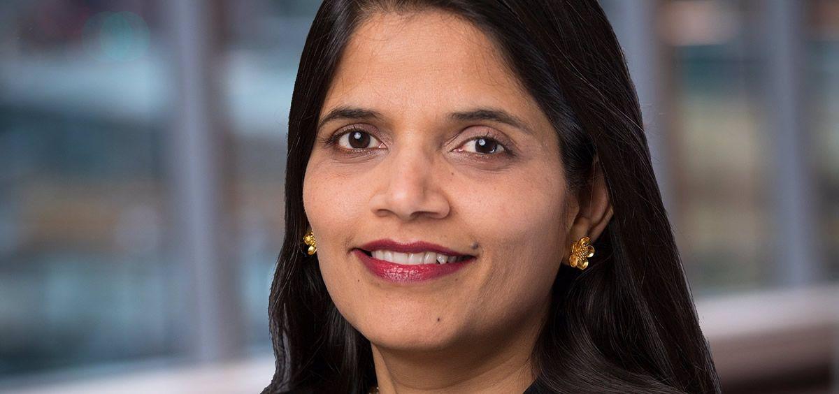 La futura directora financiera de AstraZeneca, Aradhana Sarin. (Foto. EP Alexion)