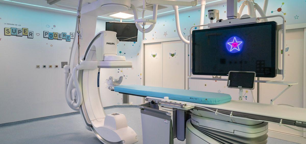 Philips colabora en la remodelación de la sala de hemodinámica infantil del Gregorio Marañón