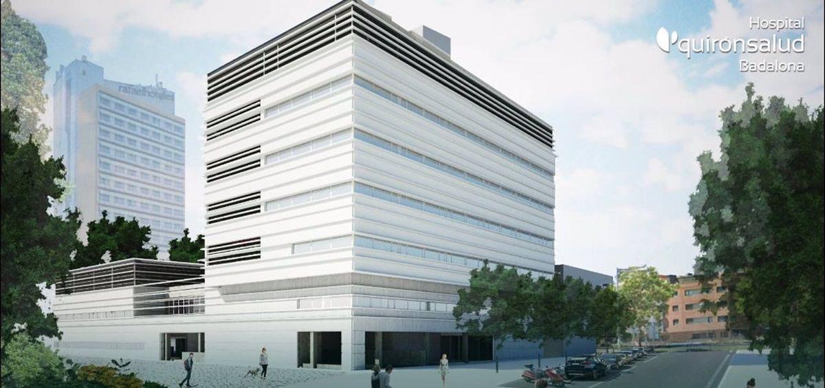 Quirónsalud abrirá en 2023 el primer hospital privado de Badalona. (Foto. Quirónsalud. Europa Press)
