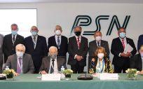 Imagen de familia del Consejo de Administración de PSN