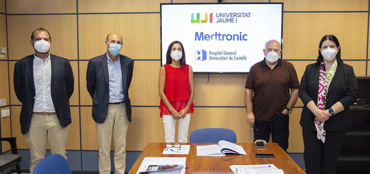 Reunión del Comité Mixto de Seguimiento de la Cátedra Medtronic de Formación e Investigación Quirúrgica